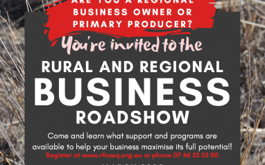 Rural and Regional Business Roadshow – Blackall 9th March
