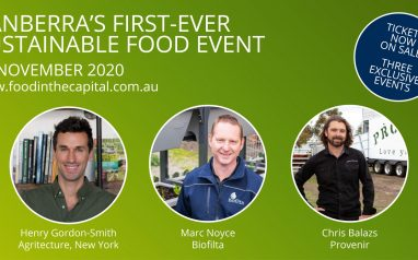 Sustainable Food Event – Food in the Capital