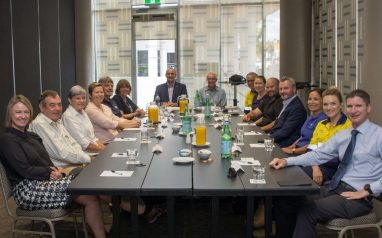 """""""Red Dust to Reef"""" report presented at the Cap Enterprise Chairman's lunch"""
