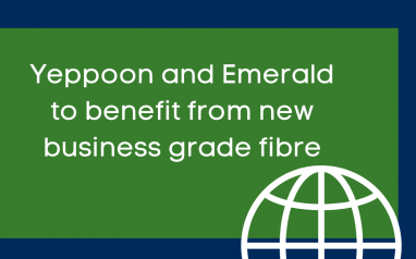 Yeppoon and Emerald have been announced as two of 44 new nbn™ Business Fibre Zones